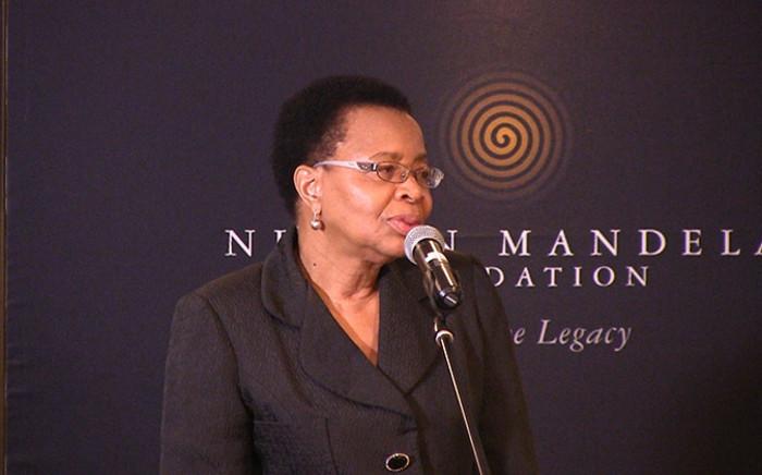 Graca Machel. Picture: EWN