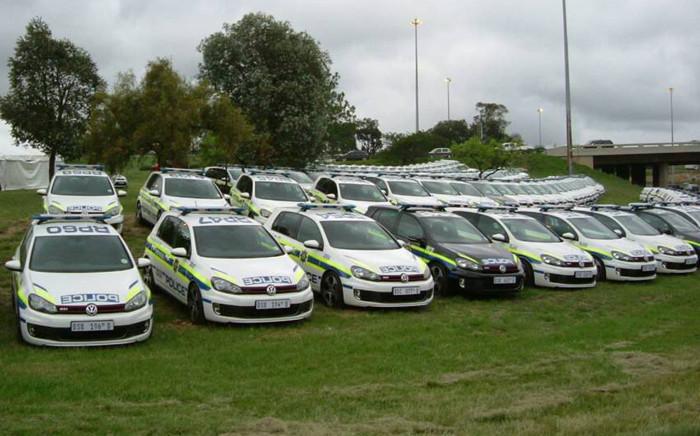 Police vehicles. Picture: saps.gov.za
