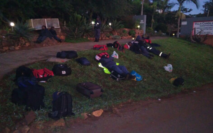 Over 20 Gauteng police officers refused accommodation given during their deployment to Komatipoort in Mpumalanga over the Easter Holidays. Picture: RTMC Twitter
