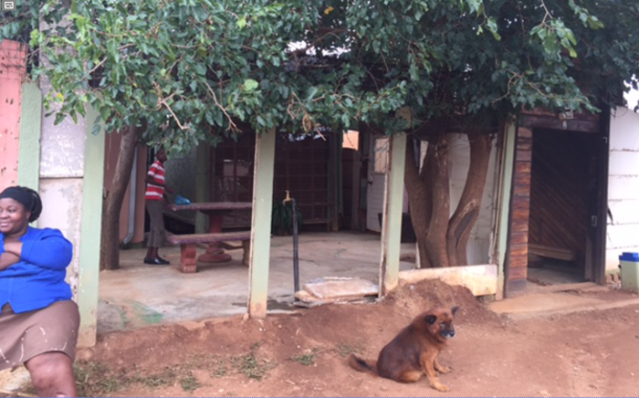 The Thokoza house where six children were held captive. Picture: Thando Kubheka/EWN.