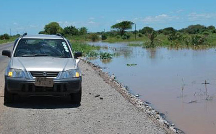 Thousands of Mozambicans were left homeless following flooding. Picture: Roy Paton/IWN