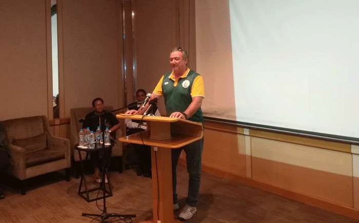 FILE: Sascoc vice-president Barry Hendricks. Picture: @TeamSA18/Twitter.