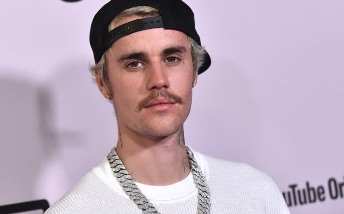 """Canadian singer Justin Bieber arrives for YouTube Originals' """"Justin Bieber: Seasons"""" premiere at the Regency Bruin Theatre in Los Angeles on 27 January 2020. Picture: AFP"""