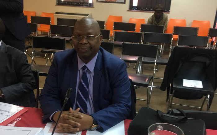 Deputy Minister of Cooperative Governance and Traditional Affairs, Obed Bapela, at the SAHRC's inquiry into Alexandra township on 24 July 2019. Picture: Edwin Ntshidi/EWN.