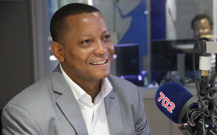 FILE: Former SABC COO Chris Maroleng. Picture: Radio 702.