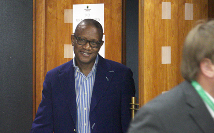 Former arms deal consultant and defence adviser Fana Hlongwane testified at the Seriti Commission of Inquiry on 11 December 2014. Picture: Reinart Toerien/EWN.