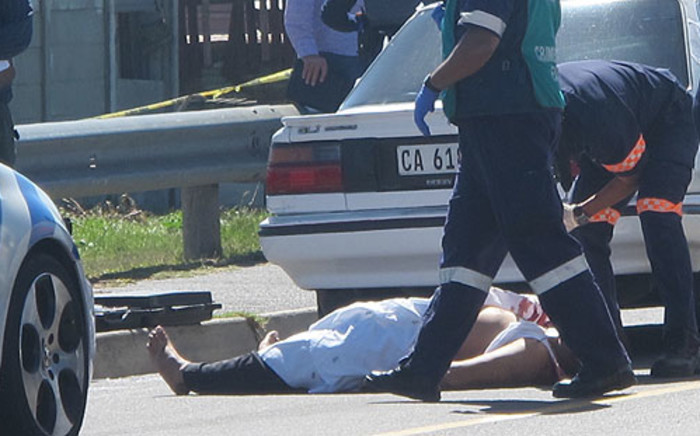 Wesley Woodman died after he was shot in Lavender Hill on 3 April 2013. Picture: Shamiela Fisher/EWN