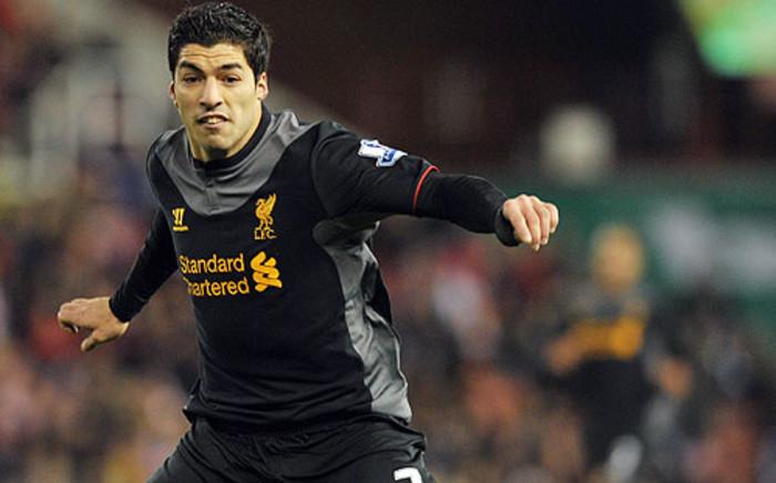 Liverpool striker Luis Suarez. Picture: AFP