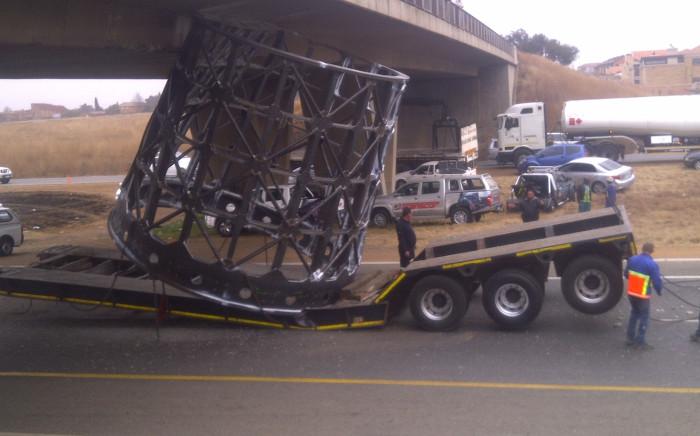 Bridge obstruction.