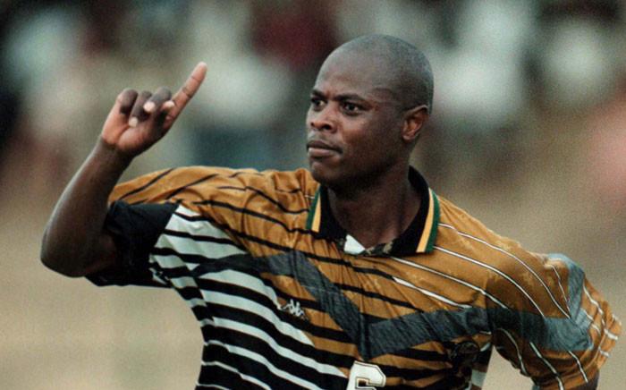 Bafana Bafana legend Phil Masinga. Picture: Twitter  @BafanaBafana.