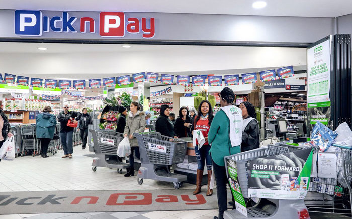 A PicknPay store. Picture: @PicknPay/Twitter