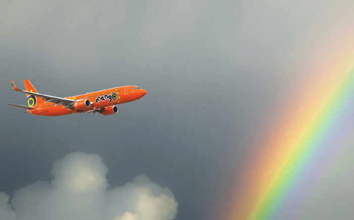 Mango Airlines. Picture: Mango Airlines official Facebook page.