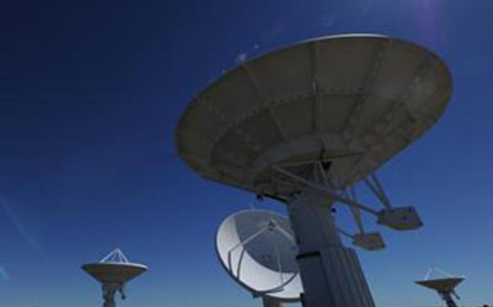 SKA satellites in the Karoo. Picture: Supplied.
