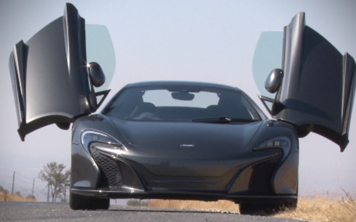 The McLaren 650S is a supercar designed and manufactured by McLaren Automotive.Picture: Kgothatso Mogale/EWN