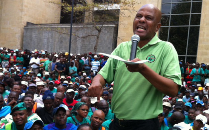 FILE:Amcu has criticised Anglo American's door to door move to its employees in their homes about wage offers. Picture: Gia Nicolaides/EWN.