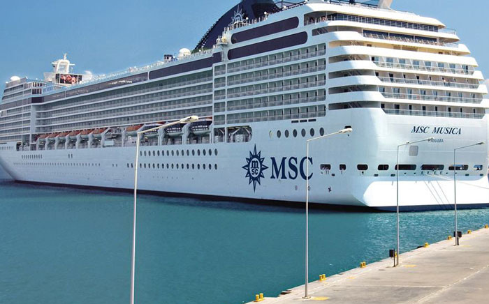The MSC Musica. Picture: facebook.com