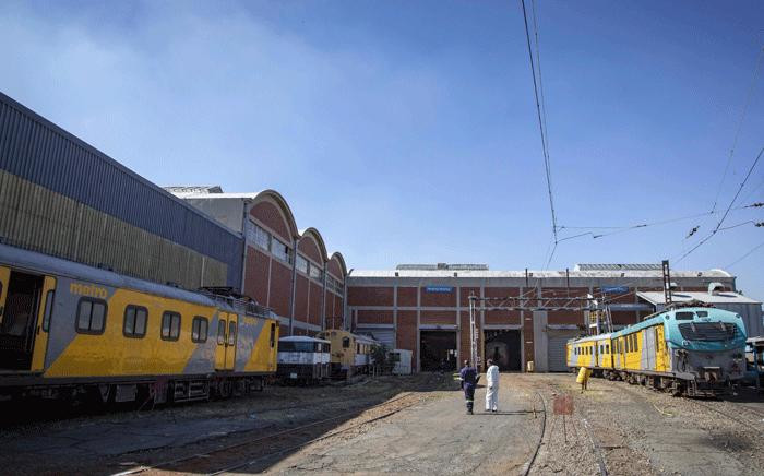 FILE: A view inside the Prasa repair depot on 28 May 2018, where trains are fixed, renovated and parts are shipped off for off-site repairs. Picture: Thomas Holder/Eyewitness News