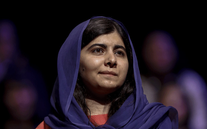 In this file photo taken on July 09, 2018 Pakistani activist and Nobel Peace prize laureate Malala Yousafzai attends an event about the importance of education and women empowerment in Sao Paulo, Brazil. Picture: Miguel Schincariol / AFP.