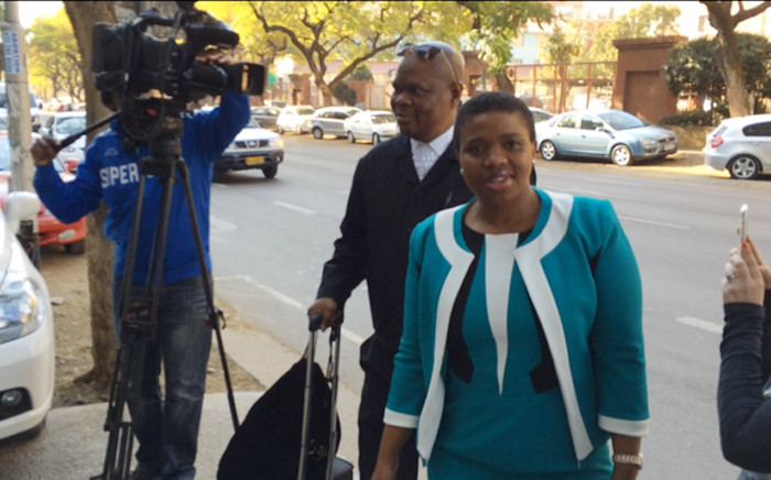 FILE: Deputy Prosecutions boss Nomgcobo Jiba arriving in court in Pretoria on 19 August 2015. Picture: Barry Bateman/EWN.