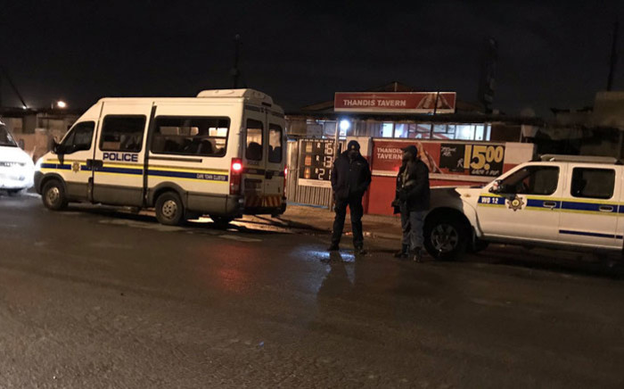 Police conduct an operation in Philippi East, Cape Town on 12 July 2019. Picture: Lauren Isaacs/EWN