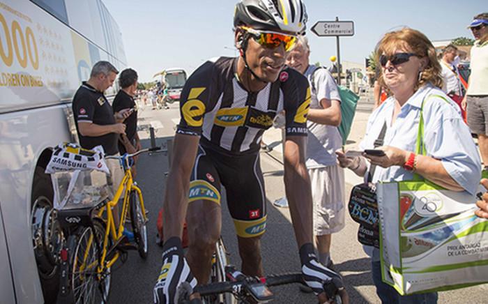 Team favourite Teklihaimonot places 7th for the leg.Picture :Thomas Holder/EWN
