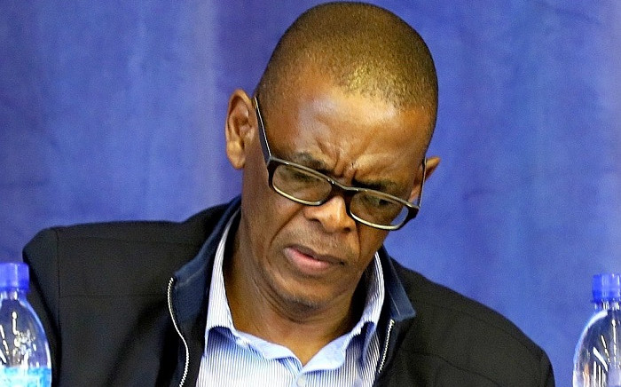 ANC SG Ace Magashule in Kraaifontein for the announcement of the interim PEC on Saturday, 24 August 2019. Picture: @MyANC/Twitter