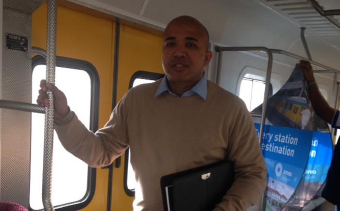 Western Cape Metrorail regional manager Richard Walker. Picture: Lauren Isaacs/EWN.