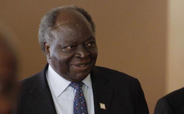 Kenyan President Mwai Kibaki. Picture: AFP.
