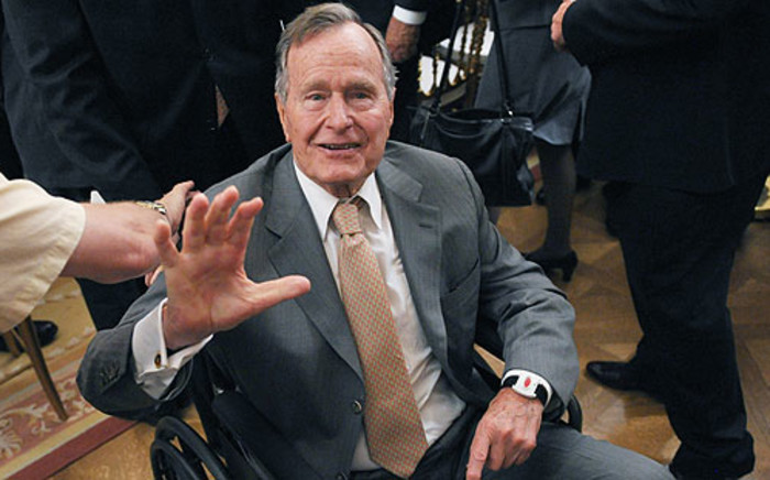 FILE: Former President of the United States George H.W Bush. Picture: AFP