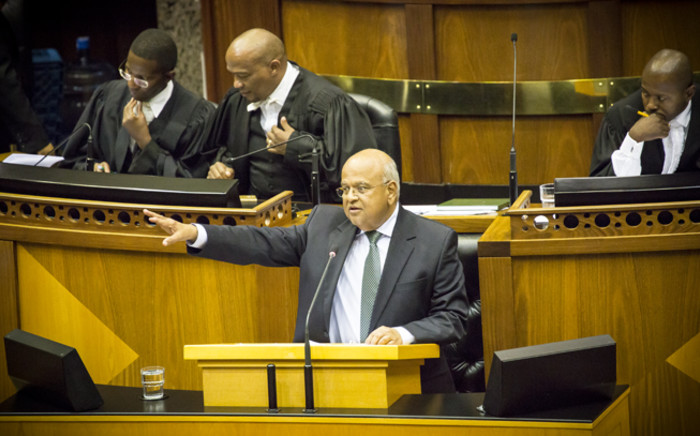 Minister of Cooperative Governance and Traditional Affairs Pravin Gordhan hit back at opposition arguing that their record isn't as spotless as they make it out to be. Picture: Thomas Holder/EWN