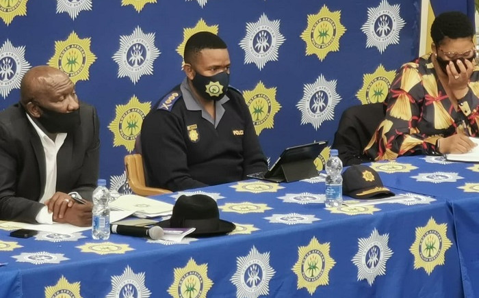 Police Minister Bheki Cele hosted a Ministerial Imbizo in Langa, geared at tackling violent crime in Cape Town communities. Picture: SAPS