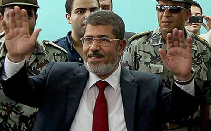 Ousted Egypt President Mohammed Morsi. Picture: AFP