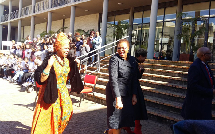 Dr Mamphela Ramphele (left), former first lady Graca Machel (centre), and UCT's vice-chancellor Professor Mamokgethi Phakeng attend the institution's special Women's Day event. Picture: Twitter/@UCT_news.