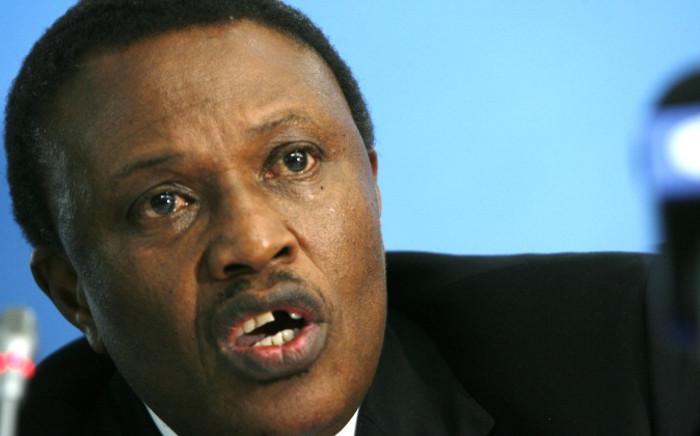 PSL Chairman Dr Irvin Khoza. Picture: AFP.
