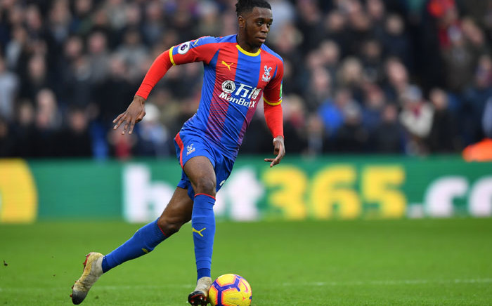 Aaron Wan-Bissaka during his time with Crystal Palace. Picture: AFP