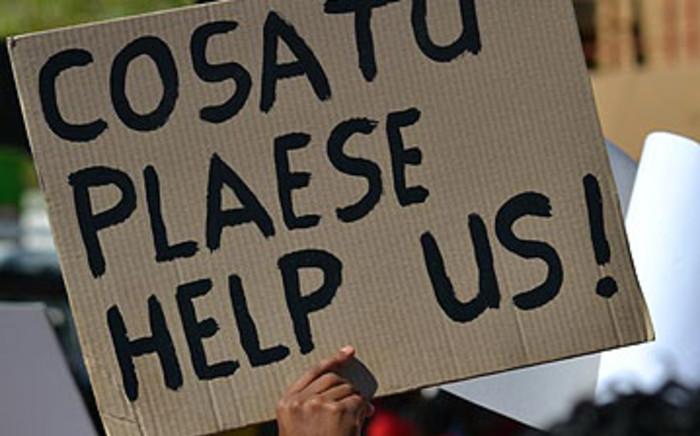 Cosatu protest. Picture: EWN