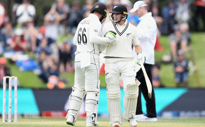 New Zealand vs India in the second test in Christchurch on 2 March 2020. Picture: @ICC/Twitter.