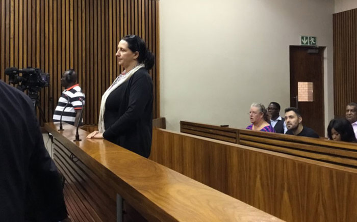 Vicki Momberg is sentenced in the Randburg Magistrates Court on 28 March 2018 for her racist rant. Picture: Hitekani Magwedze/EWN