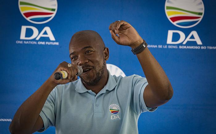FILE: DA leader Mmusi Maimane. Picture: EWN