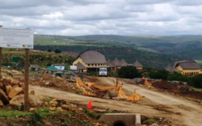 FILE: Construction underway at the Nelson Mandela Museum in Mvezo on 4 December 2014. Picture: Vumani Mkhize/EWN.