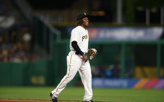 FILE: Pittsburgh Pirates rookie Gift Ngoepe. Picture: @Pirates/Twitter.
