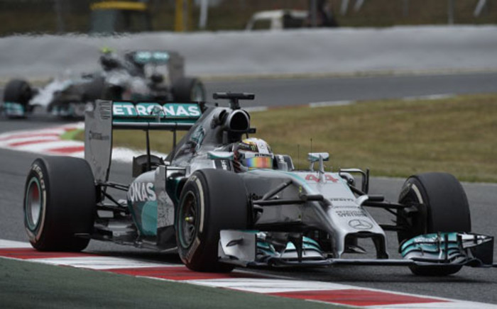 Mercedes has won every race so far this season and also taken every pole position. Picture: AFP.