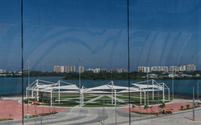 FILE: Partial view of the Olympic Park taken from the Olympic Aquatics Stadium in Rio de Janeiro, Brazil, in April 2016. Picture: AFP.