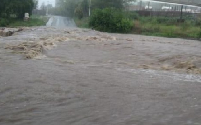 FILE: The South African Weather Service on 21 November 2020 warned of more possible storms and flooding across several parts of the country for the rest of this weekend. Provinces, including Gauteng and the Free State, are already battling extensive damage to roads and infrastructure due to the sustained downpours. Picture: @CityTshwane/Twitter
