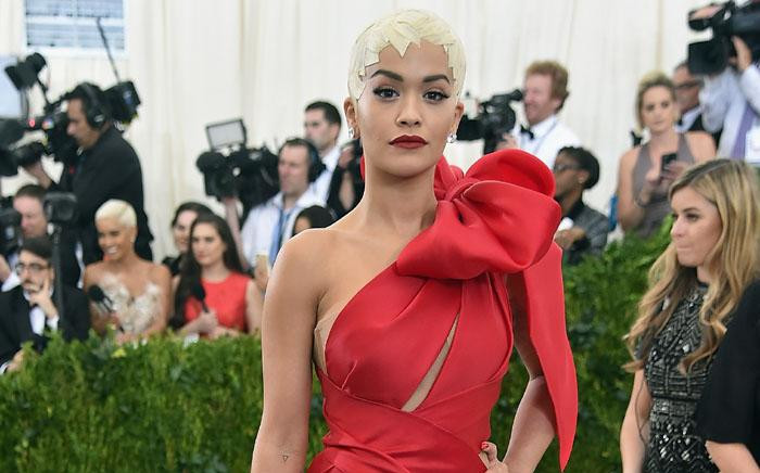 Singer Rita Ora at the Costume Institute Benefit on 1 May 2017 at the Metropolitan Museum of Art in New York. Picture: AFP.