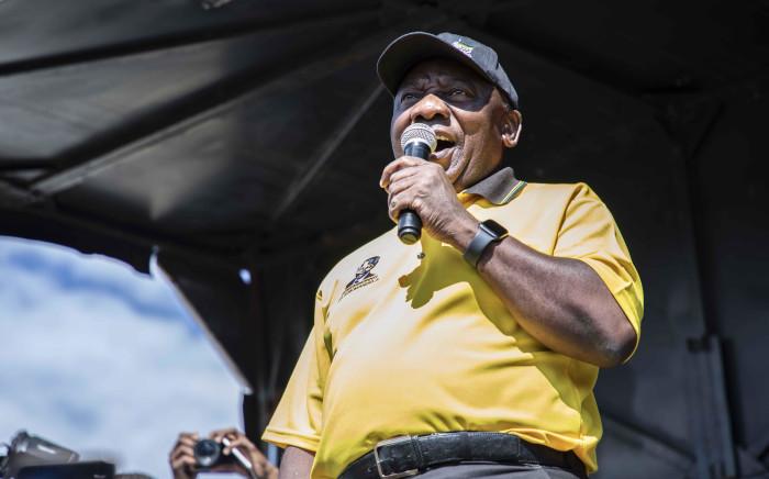 FILE: ANC President Cyril Ramaphosa. Picture: Abigail Javier/EWN.