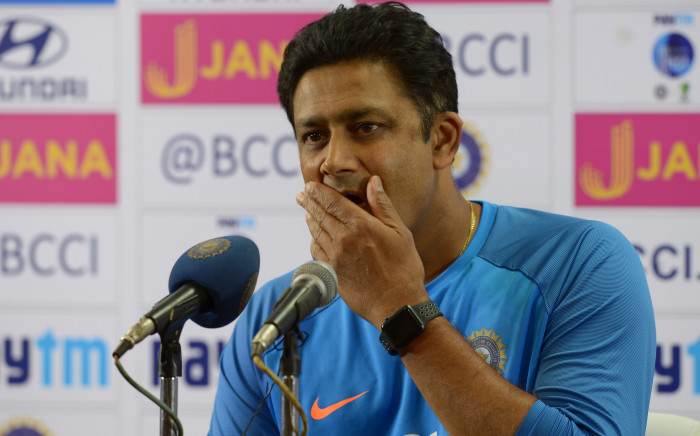 Indian cricket coach Anil Kumble. Picture: AFP