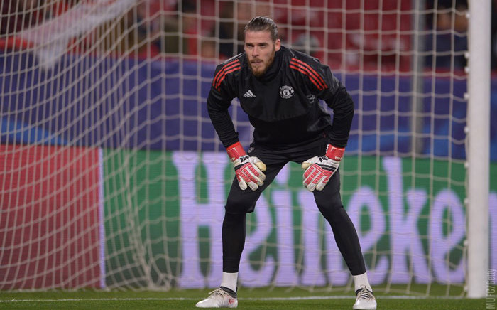 Manchester United goalkeeper David de gea. Picture: @ManUtd/Twitter