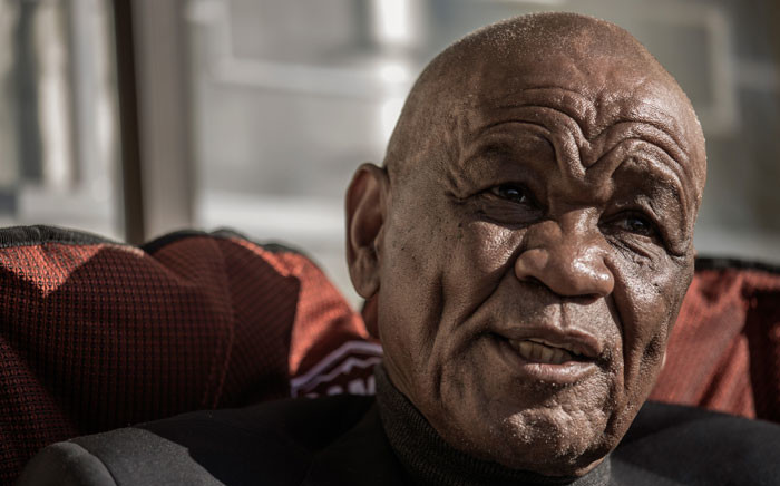 In this file photo taken on 31 May 2017 Lesotho political party All Basotho Convention (ABC) leader Prime Minister Tom Thabane gives an interview to Agence France-Presse at his residence in Maseru. Picture: AFP