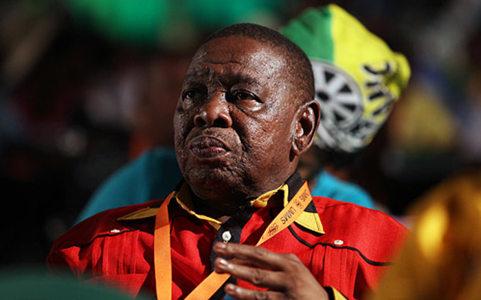 South African Communist Party (SACP) Secretary General Blade Nzimande claims opposition parties are trying to destroy the Tripartite Alliance. Picture: Taurai Maduna/EWN.
